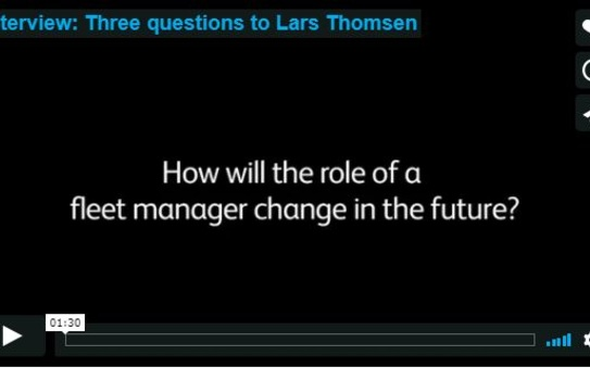 Three questions to Lars Thomsen
