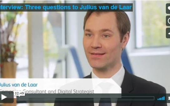 Three questions to Julius van de Laar