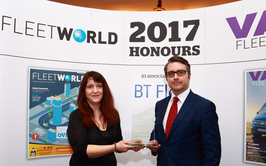 Alphabet recognised for innovation with double success at FleetWorld Honours