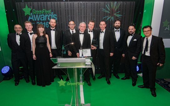 Alphabet awarded 2016 Leasing Company of the Year from GreenFleet