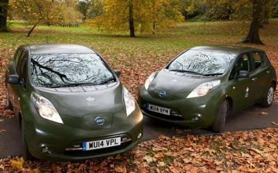 Alphabet supplied Leafs add an extra splash of green to The Royal Parks' fleet