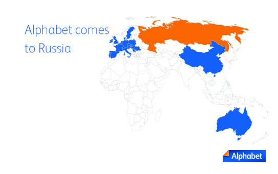 Alphabet expands into Russian market