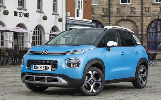 Citroën Aircross wins Best Small SUV in the 2019 business motoring awards