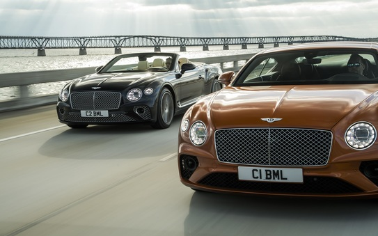 Driver-focussed, elegant and exquisitely hand-crafted: new Continental GT V8