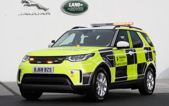 Land Rover hands over first of 70 Discovery vehicles to Highways England