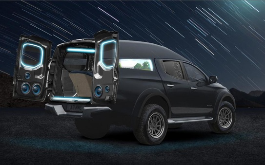 Mitsubishi L200 concept declared winner of the inaugural 'Truck King Battle'