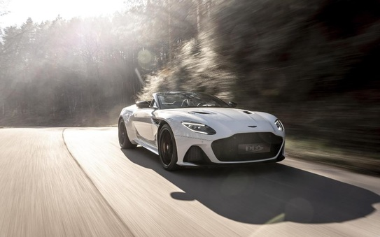 Aston Martin opens the top on the ultimate open top GT experience