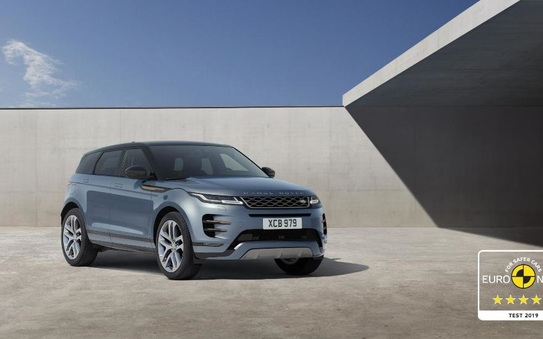 New Range Rover Evoque awarded maximum European safety rating