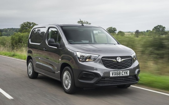 Vauxhall/Opel continues light commercial vehicle offensive