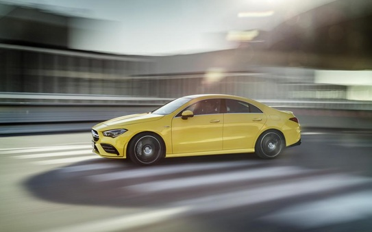 The new Mercedes-AMG CLA 35 4MATIC