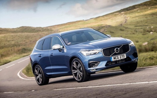 Double win for Volvo XC60 in 2019 Driver Power Survey