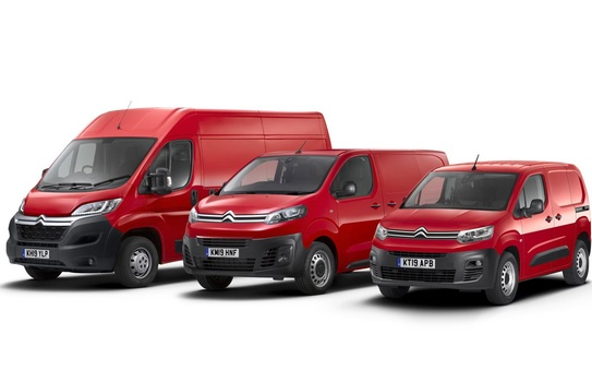 Citroën Relay Electric makes global debut at the CV Show