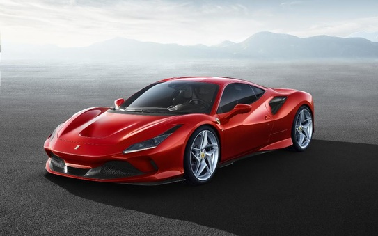 Ferrari F8 Tributo public debut at brands hatch 18-19 May 2019
