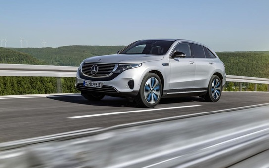 Mercedes-Benz EQC 4MATIC UK pricing and specification announced