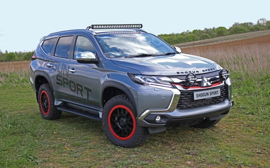 Mitsubishi Shogun Sport SVP debuts at 2019 Commerical Vehicle Show