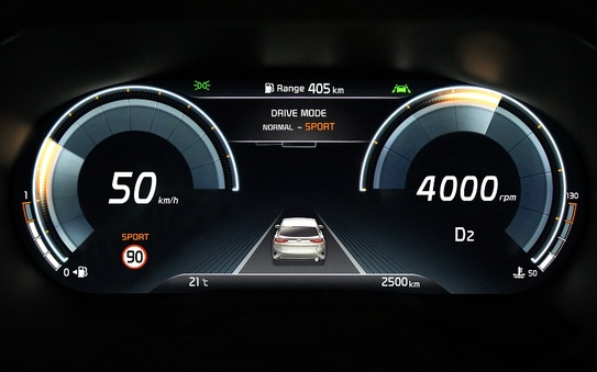 All-new Kia XCeed Crossover features new digital instrument cluster