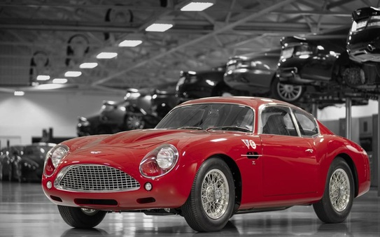 A new automotive icon to debut at Le Mans -DB4 GT Zagato Continuation