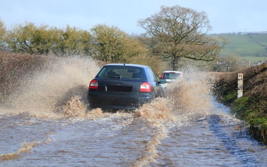 Keeping your car above water: tips from IAM Roadsmart