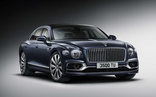 All-new Bentley Flying Spur - sports sedan meets luxury limousine