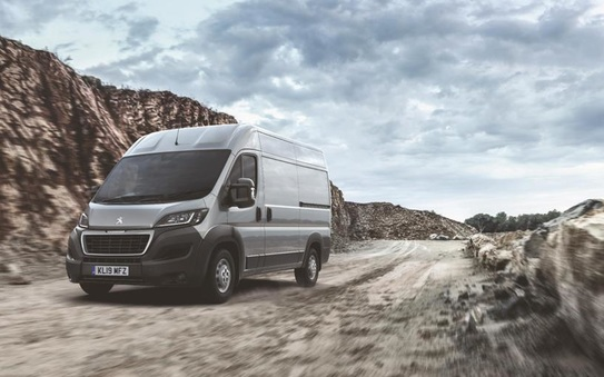 Revised Peugeot Boxer breaks cover