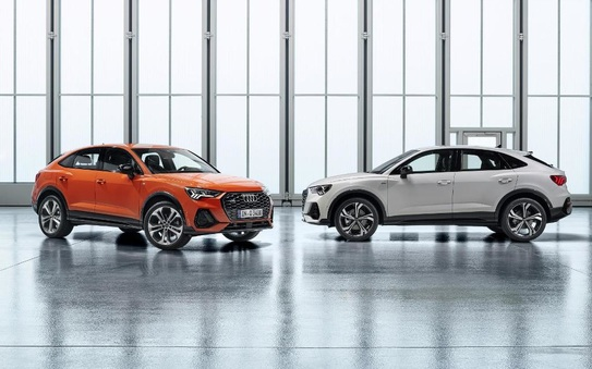 A new slant on the Audi Q3 – the new audi Q3 Sportback