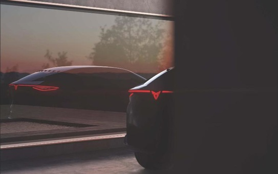 Cupra shows a glimpse of its vision of the future with an all-electric concept car