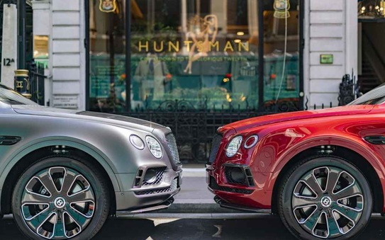 Jack Barclay Bentley & Huntsman Reveal Bespoke Bentayga