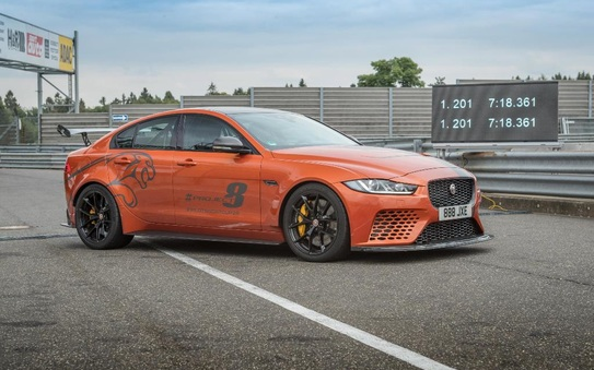Jaguar XE SV Project 8, the World's fastest saloon car