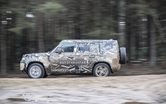 Jaguar and Land Rover set to wow Goodwood crowd with prototype Defender