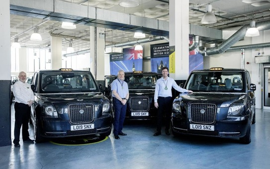 Electric taxis exempt from higher tax rates as UK moves towards net zero