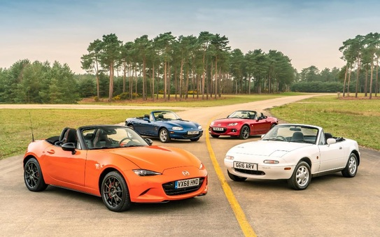 Mazda MX-5 30th Anniversary Edition arrives in the UK