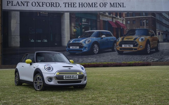 Mini electric unveiled at Oxford as brand turns 60