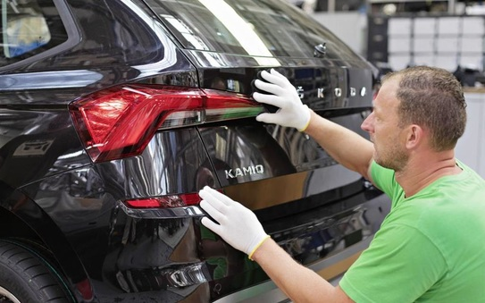 Start of production for the new ŠKODA Kamiq City SUV