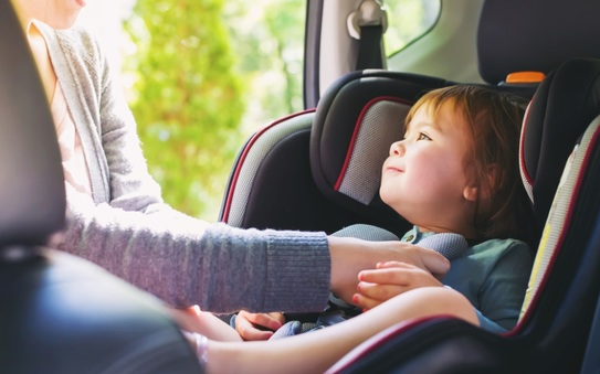 Top tips for driving abroad with children