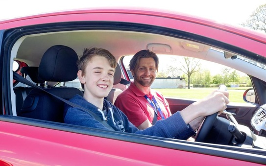 Young driver asks government to reflect on its 740,000 pre-licence lessons success