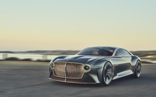 Exp 100 GT dynamic imagery released to mark Bentley's centenary celebrations
