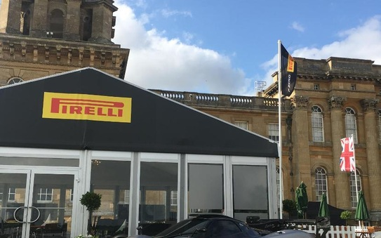 Pirelli all set for Salon Privé
