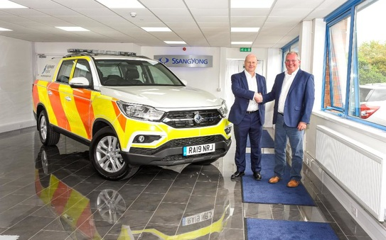 Ssangyong supplies 32 Musso vehicles to Highways England