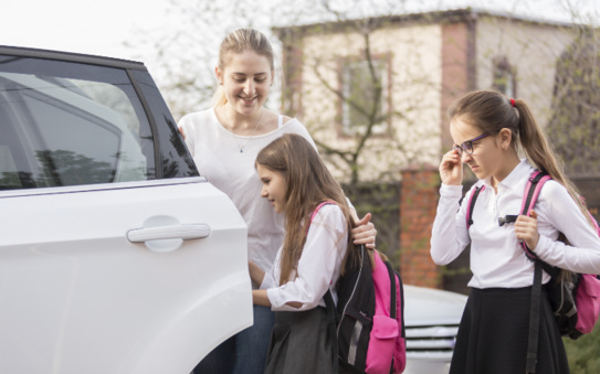 The school run - driving tips