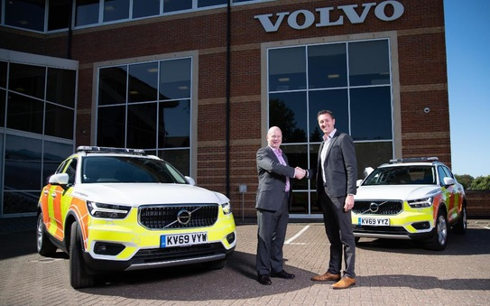 Highways England invests in fleet of Volvo XC40s