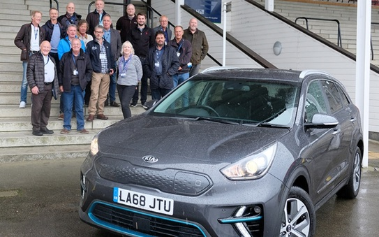 Kia e-Niro wins Northern Group car of the Year 2019