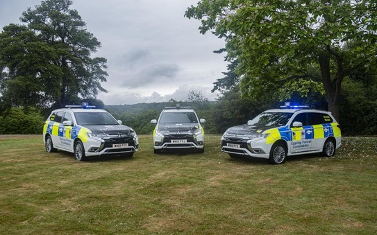 Mitsubishi Outlander chosen by the City of London to protect Epping Forest