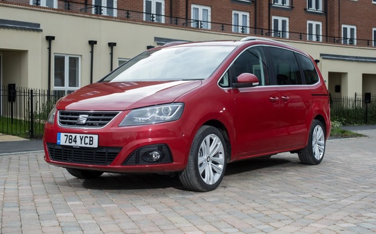 It's back to school with SEAT as the Alhambra retains its fastest selling status