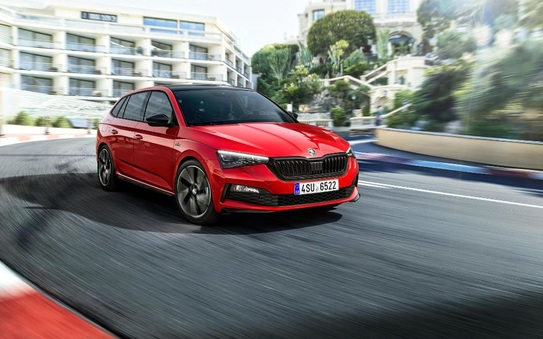 ŠKODA Scala Monte Carlo: new trim level for even more dynamic appeal