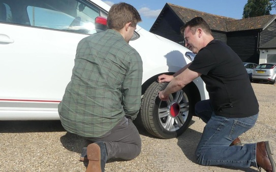Students urged to study their tyres before heading off to university