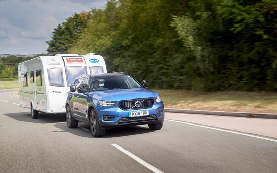 XC40 crowned Towcar of the Year as volvo enjoys a hat-trick in awards
