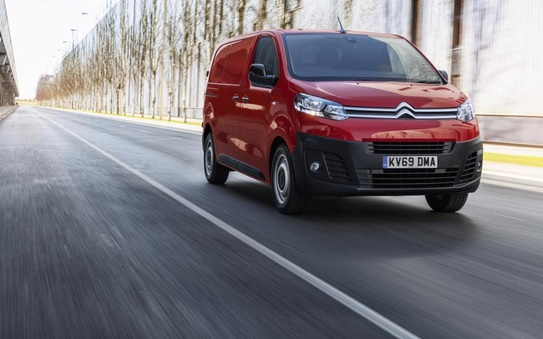 Citroen Dispatch Van wins at the Commercial Fleet Awards