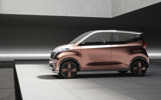 Nissan unveils IMK concept EV for fashionable urban commuters