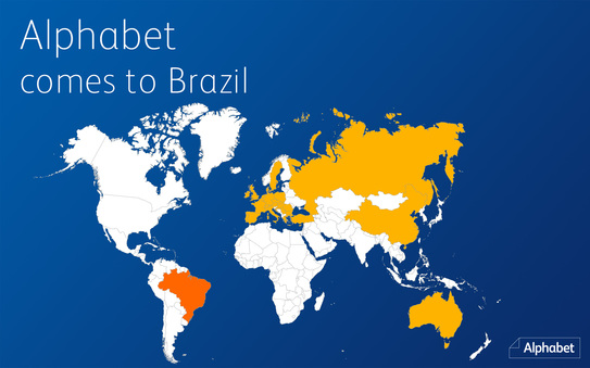 Alphabet confirms a new partner in Brazil