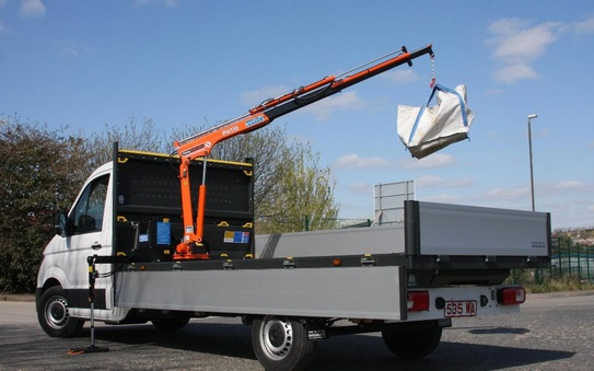 Volkswagen Crafter crane conversion hits new heights with Penny Hydraulics